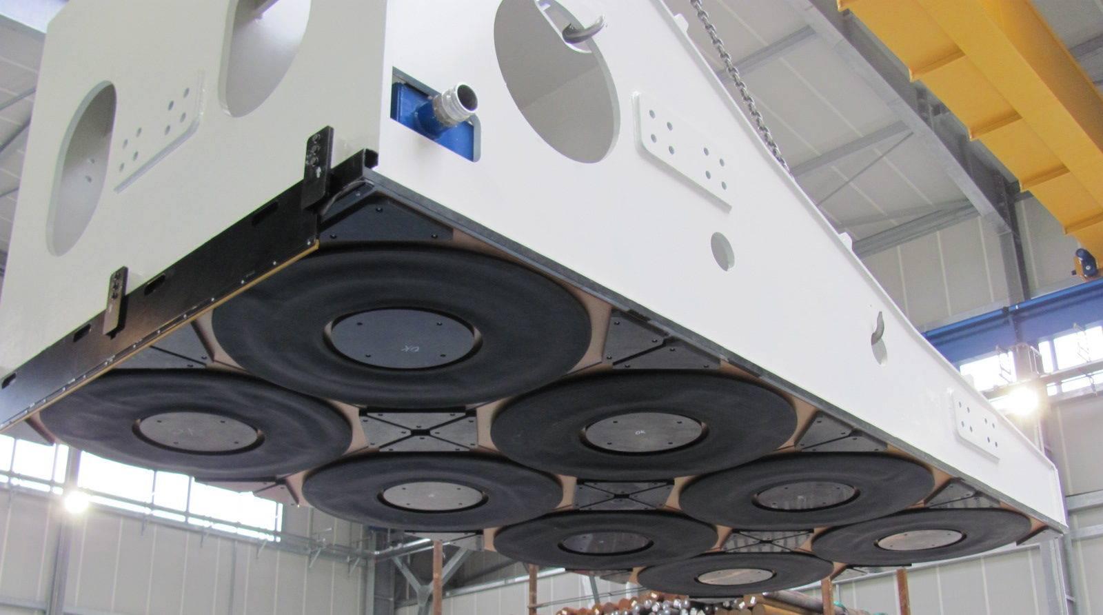 Custom air caster system